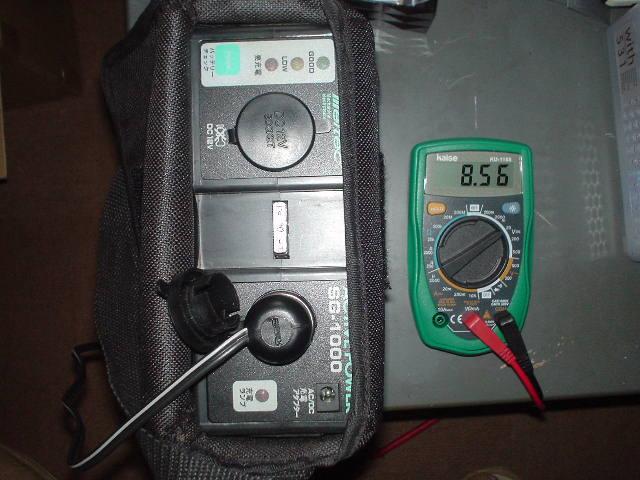 劣化バッテリー