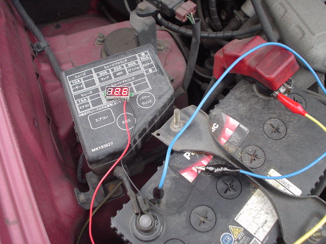 車載バッテリ1