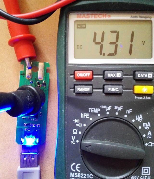 リポ充電圧